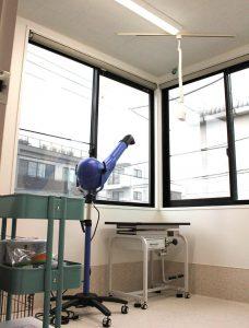 調布・三鷹の動物病院、ほほえみ動物病院ではトリミング室も用意しています。